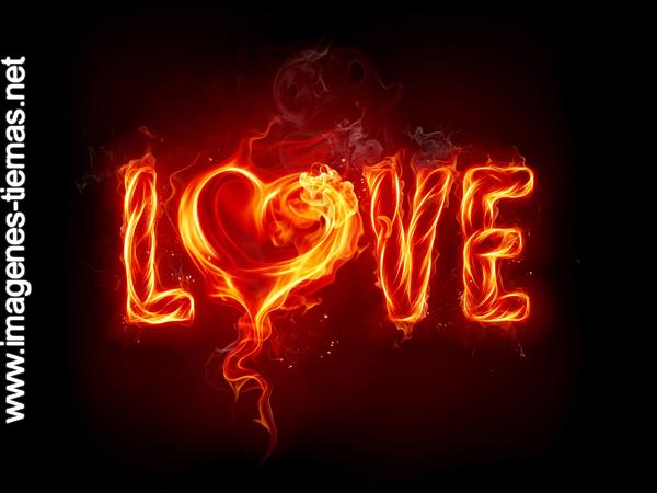 amor prendido fuego love Imagenes de amor para apasionados