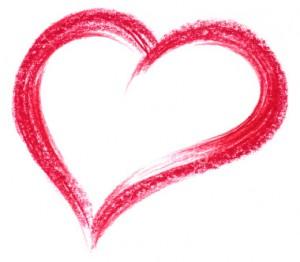 corazon dibujado