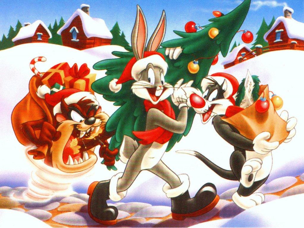 postales de navidad caricatura bugs bunny