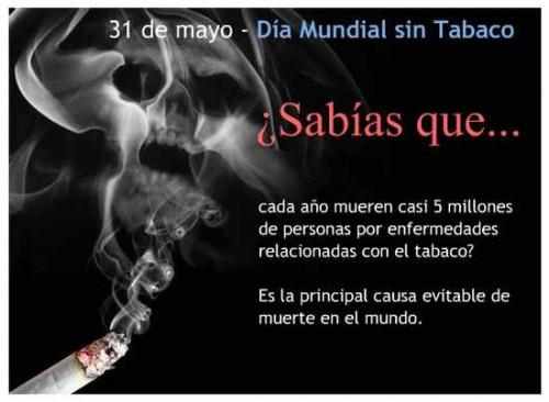 Dia mundial sin tabaco e1338424683648 Imágenes para el día mundial sin tabaco