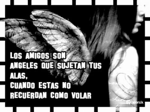 Postal de amistad de angeles e1336856136958 Imágenes tiernas de ángeles