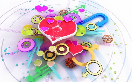 imagenes de amor abstracto