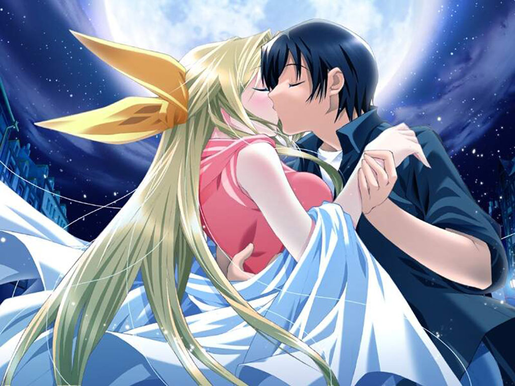 imagen romantica de anime Imágenes tiernas de Anime