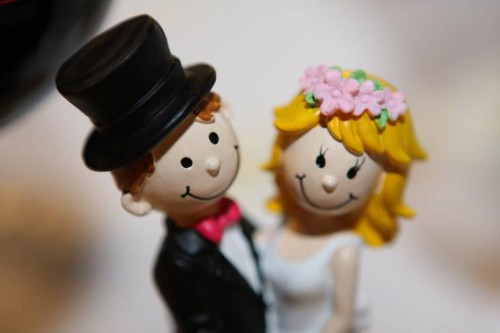 muñequitos de boda
