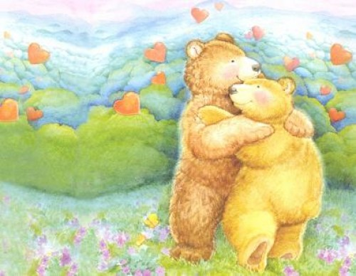 osos enamorados pardos