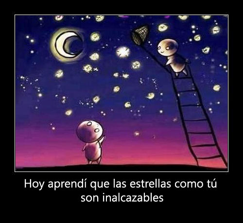Hoy aprend que las estrellas como t son inalcazables.1 Imgenes tiernas de estrellas
