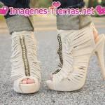 Sandalias altas estilo botin tacon de aguja 150x150 Imágenes de zapatos