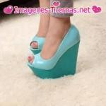Zapatos de plataforma despustandos 150x150 Imágenes de zapatos