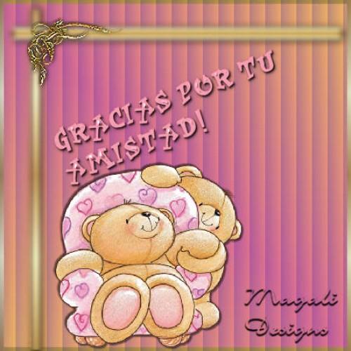 gracias por tu amistad e1339439434389 Imágenes tiernas para compartir con los amigos