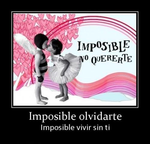 imposible olvidarte1 e1339687611168 Imágenes tiernas de Imposible olvidarte