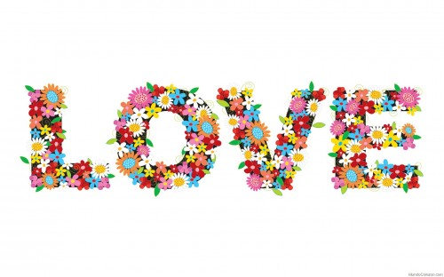 love en flores e1339859481966 Imgenes tiernas con flores