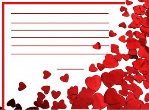 marco de carta de amor