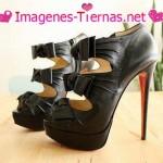 sandalias negras 150x150 Imágenes de zapatos