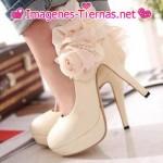 zapato con flor decorativa 150x150 Imágenes de zapatos
