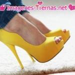 zapatos amarillo patito 150x150 Imágenes de zapatos