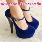 zapatos azules 150x150 Imágenes de zapatos