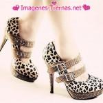 zapatos de leopardo