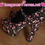 zapatos flores 150x150 Imágenes de zapatos