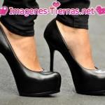 zapatos negros 150x150 Imágenes de zapatos