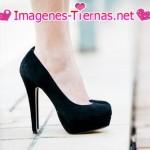 zapatos negros altos 150x150 Imágenes de zapatos