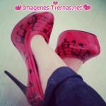 zapatos taco en punta