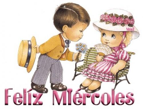 Feliz miercoles e1342630830526 Imágenes tiernas para desear feliz miércoles