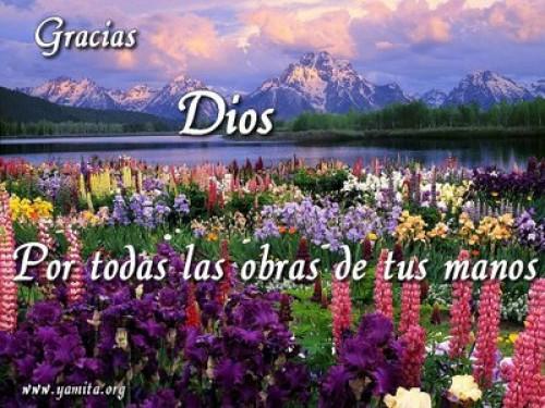 Gracias Dios por todas las obras de tus manos e1342974637478 Imágenes tiernas para agradecer a Dios