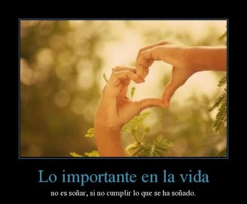 Lo importante-en la vida