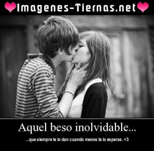 aque beso inolvidable e1343406586269 Imgenes tiernas de besos inolvidables