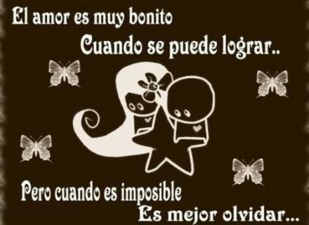 postal amor imposible Imágenes tiernas de amor imposible