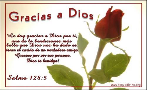 postal gracias Dios e1342974741100 Imágenes tiernas para agradecer a Dios