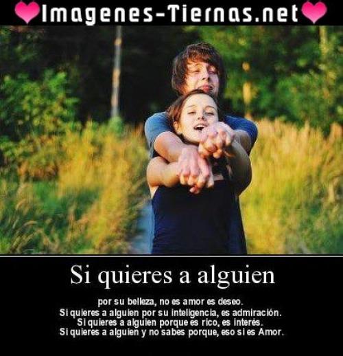 si quieres a alguien e1343227206809 Imágenes de amor Si quieres a alguien
