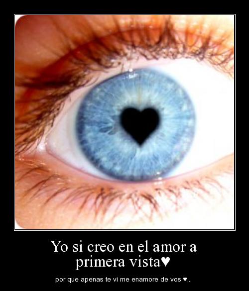 yo si creo en el amor a primera vista♥ Imágenes de amor a primera vista