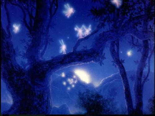 Bosque encantando de hadas e1345322582990 Imágenes lindas sobre paisajes de bosques encantados