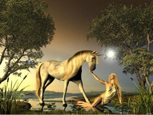 Chica Unicornio e1343948117189 Imágenes tiernas de unicornios
