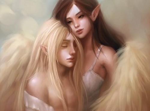 Elfos Amor e1344872580842 Imágenes tiernas de elfos
