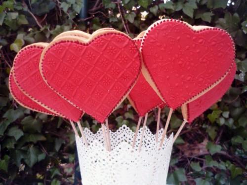 Galletas de Corazón e1345815913589 Imágenes de postres en forma de corazón
