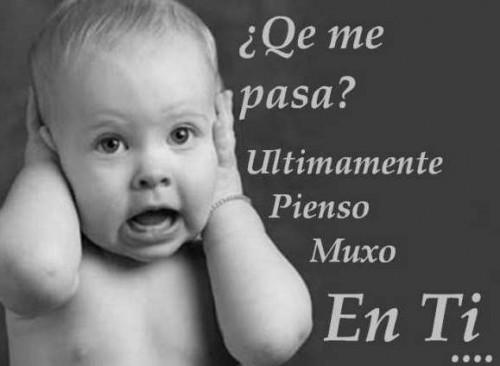 """Postal pienso ucho en ti e1345126405944 Imágenes de amor: """"Pienso mucho en ti"""""""