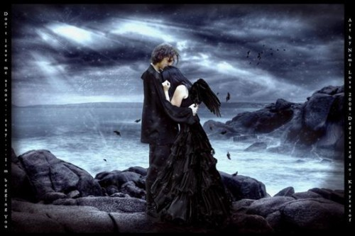 amor gotico e1345850433310 Imágenes románticas góticas