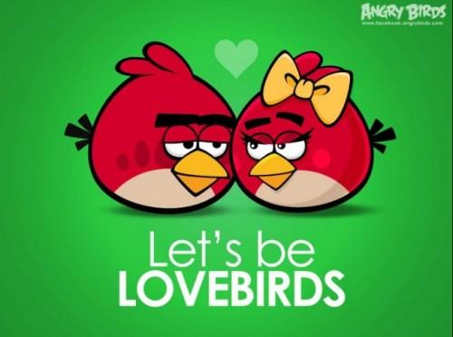 angry birds love e1345678075771 Imágenes tiernas de Ungry Birds