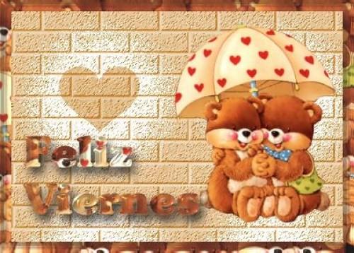 feliz viernes e1344609953660 Imágenes tiernas para desear feliz viernes