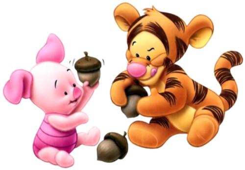 Imagenes de Pooh bebé con brilló y movimiento - Imagui