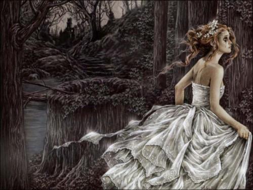 princesa del bosque encantado e1345322713198 Imágenes lindas sobre paisajes de bosques encantados