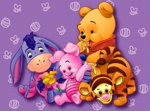 Winnie Pooh con Movimiento y Brillo | Imagenes de Amor