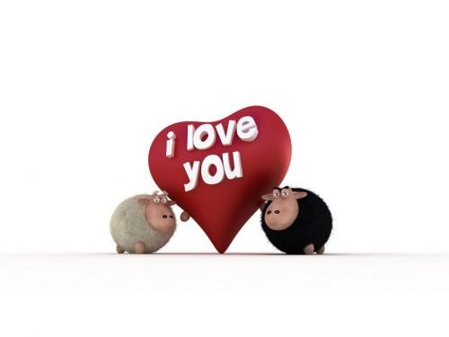 Amor de Borregos e1347210509169 Imágenes tiernas de borreguitos
