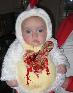 Bebe alien Imágenes tiernas de bebés con disfraces graciosos