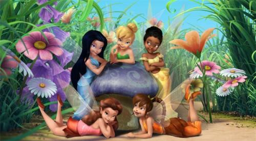 Campanita y sus amigas e1347978991998 Imágenes tiernas de Campanita