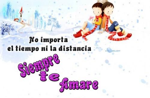"""No importa el tiempo ni la distancia Siempre te amare e1346609371719 Imágenes de amor: """"No importa el tiempo"""""""