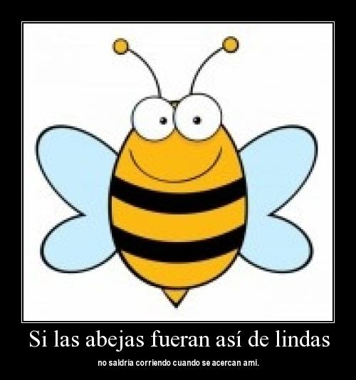 abejas lindas Imágenes tiernas de abejitas