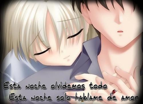 Imágenes románticas de Animes